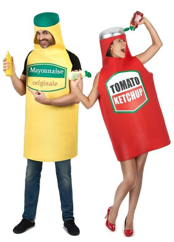 Couple Ketchup et Mayonnaise