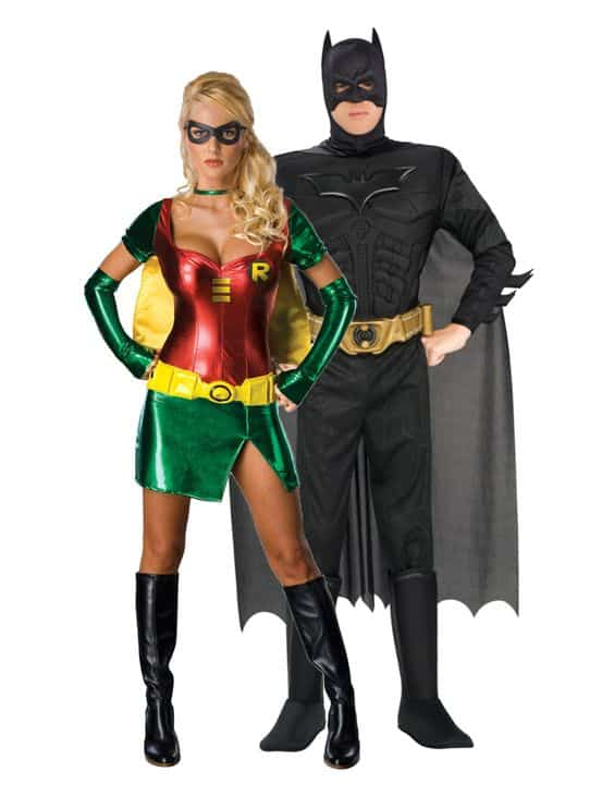 Couple Batman et Robin