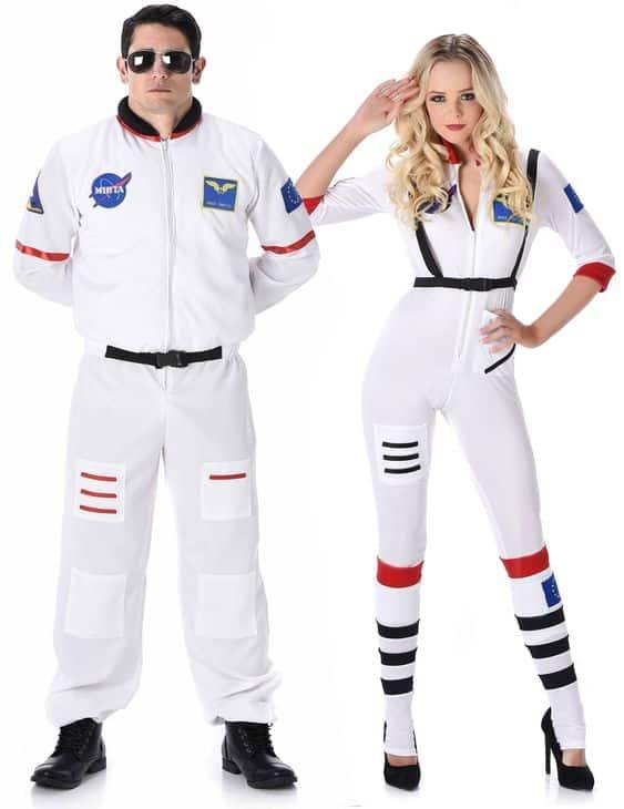 Couple astronautes
