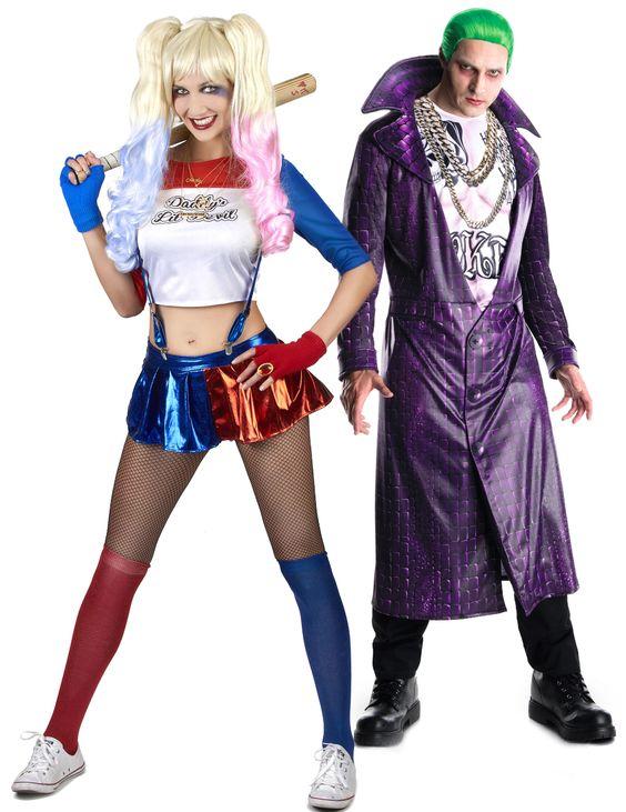 Couple Joker et Harley Quinn